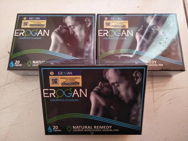 Erogan - en pharmacie - crème - composition