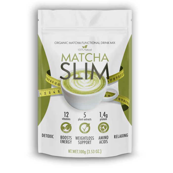 Matcha Slim - action - sérum - comprimés
