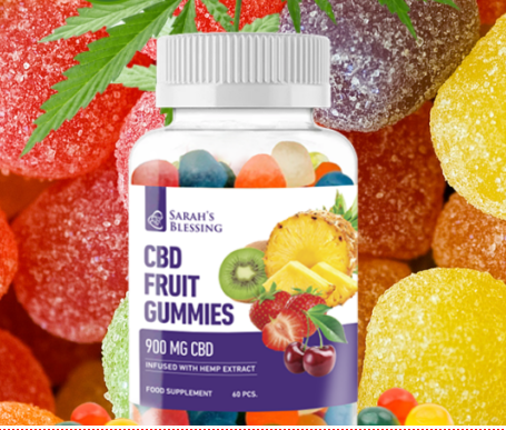 Sarah's blessing cbd fruit gummies - en pharmacie - Amazon - prix