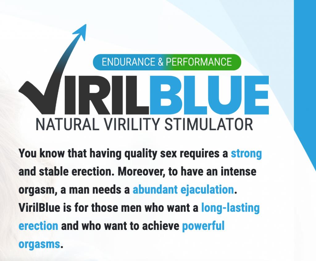 VirilBlue - forum - temoignage - composition - avis
